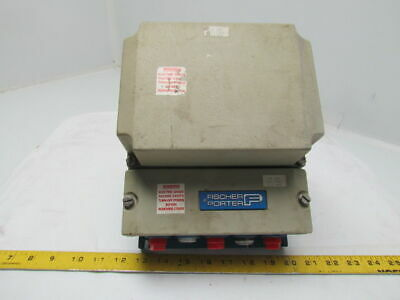 Fisher Porter 10D1475EN15PF29AW12CAC1 Magnetic Flow Signal Converter 0-320GPM