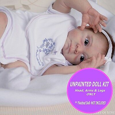 Irelyn reborn doll kit~ to make your own one of a kind baby Soft blank unpainted