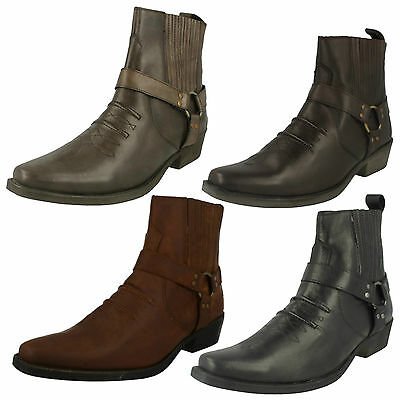 Wholesale Mens Ankle Boots 14 Pairs Sizes 7-12  A3003