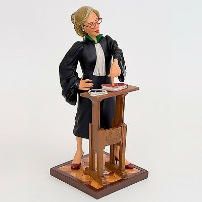 "GUILLERMO FORCHINO Professionals ""LADY LAWYER"" Comic Art Figur - FO84011 NEU !!"