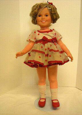 """Shirley Temple Vintage 16"""" Doll by Ideal Toy Co"""