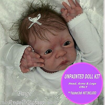 Reborn doll kit paige~ ready to paint and make your own reborn baby W/ FREE GIFT