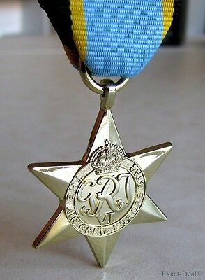 Canada Canadian - British & Commonwealth The Air Crew Europe Star Medal WWII