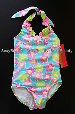 Nwt 100% Authentic Girls/toddler Daisy Chain One Piece Swimsuits Size 2T-6X