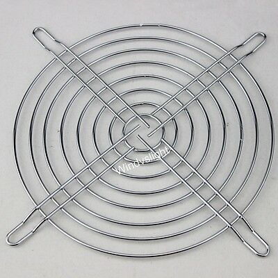 Fan Grill Protective Finger Guard Steel Mesh Cable Ties For 140mm PC Case Fan