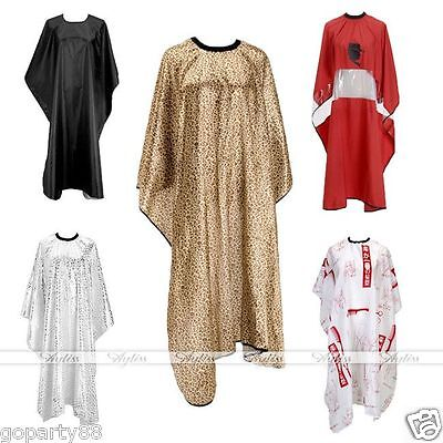 Pro Adult Salon Hair Cutting Hairdressing Barbers Hairdresser Cape Gown Robe NEW