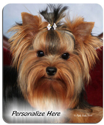 Yorkie    puppy  cut    Personalized  MousePad
