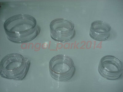 2 3 5 10 15 20 25 Gram 48PCS small cosmetic empty jar Pot sample container