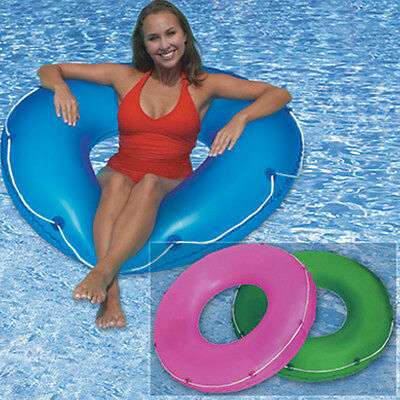 "SunSplash Swimming Pool Blue 48"" Tube with Rope"