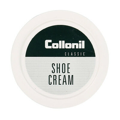 Collonil Classic Cream Shoe Polish Black Shoes Boots Care Smooth Leather 50ml