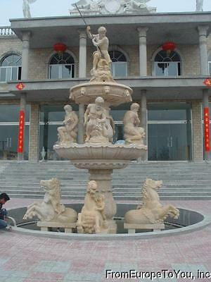 The Best Hand Carved Marble Horse And Figures European Style  Fountain - Fnt6