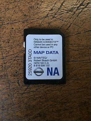 New Oem Nissan Sd Card - Map Data Card - Fits Many Models - Email For Info