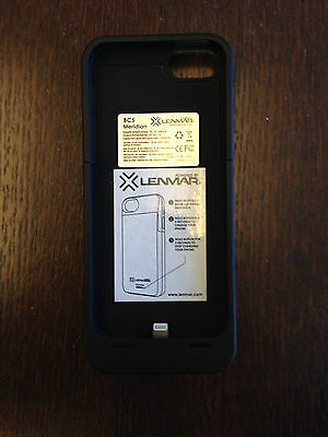Black LENMAR BC5 iPhone 5 Battery Case/Charger- Gently Used
