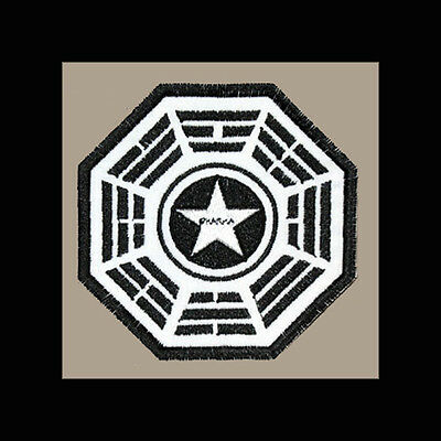 """LOST Dharma Initiative Embroidered patch """"Security"""""""