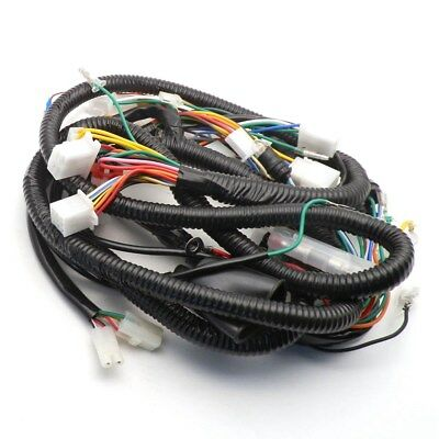 GY6 150CC WIRE HARNESS WIRING ASSEMBLY SCOOTER MOPED for 11 Pole Magneto