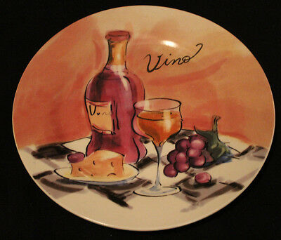 Pacific Island Creations Co. 'Vino'  8 inch plate