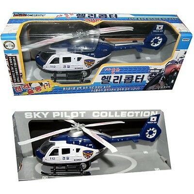 WD070801 Korea Police 112 Helicopter Die-cast Miniature