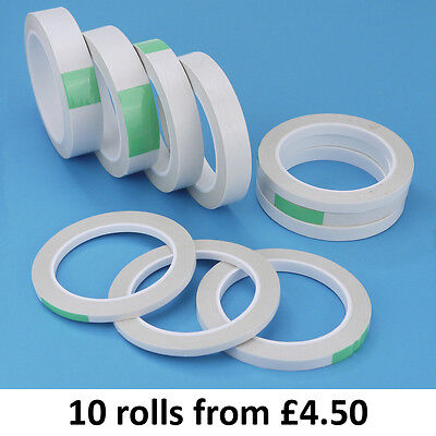 Double Sided Tape Clear Strong Adhesive 25M reels 6mm 9mm 12mm 18mm and 25mm