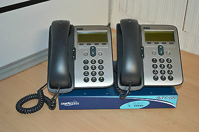 Routeur VOIP OneAccess One 200 + 2 telephone cisco 7911