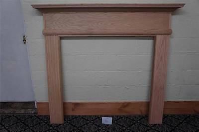 Wooden European Style Carved New Fireplace Mantel - Mantel 6