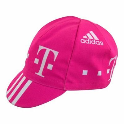 TELEKOM RETRO CYCLING TEAM BIKE CAP -Vintage - Fixed Gear - Made in Italy