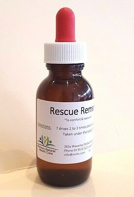 Dr Bach's Rescue Remedy 50ml For Stress, Anxiety, Worry  Also great for pets