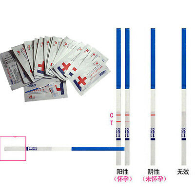 BUAU Lot of 10 Home Early Pregnancy Test Strips 5 Minute Results