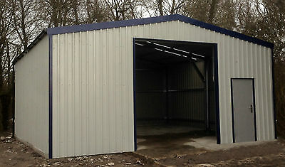 EQUIPMENT STORAGE BUILDING BY STEEL BUILD MASTERS (7m W x 7m H x 3m H)