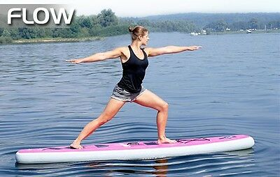 Aquamarina FLOW YOGA FITNESS Inflatable Stand Up Paddle Board SUP