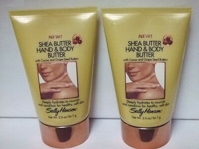Lot 4 New Sally Hansen SHEA BUTTER HAND & BODY BUTTER 2 oz Each Total 8 oz