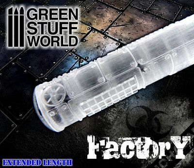 Rolling Pin - FACTORY GROUND Texture - for Warhammer and miniature bases