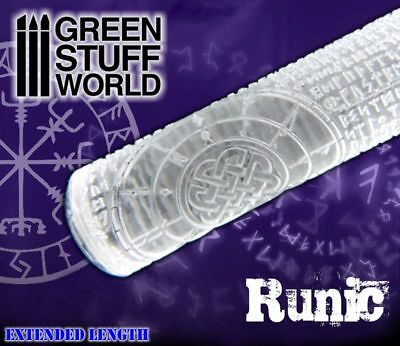 Rolling Pin - RUNIC Runes Texture - for Warhammer and miniature bases