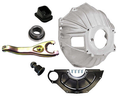 """New Chevy Bellhousing Kit,cover,clutch Fork,throwout Bearing,gm 621,11"""",3899621"""