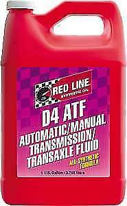 Red Line D4 Automatic Transmission Fluid ATF- (1 Gallon) RED-30505