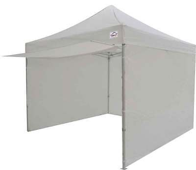 10x10 EZ Pop Up Canopy Tent Instant Canopy Commercial Tent with Sidewalls