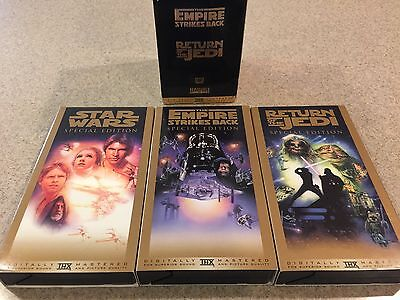 Star Wars Trilogy VHS, 1997, 3-Tape Set, Special Edition, Digitally Mastered