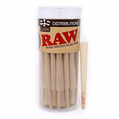 RAW Classic King Size Pre-Rolled Cones (50 Pack)