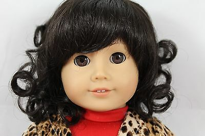 MONIQUE ANGELICA WIG SIZE 12-13 Dk BROWN,MODELED ON AN AMERICAN GIRL DOLL