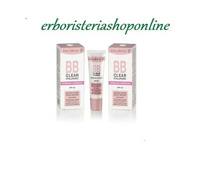 Inca Rose - BB CLEAR - HYALURONIC -ANTIMACCHIA-SPF 25