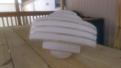 Huge Actdeco Ceilling Lamp Globe 5 7/16 Fitter Large..SO COOL!!