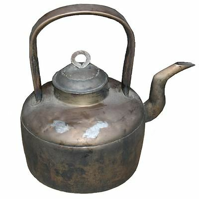 Chinese Antique Brass Boiler  (11-075B)