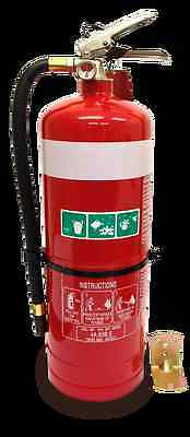 New 9Kg Dry Chemical Powder (Abe) Fire Extinguisher | Safety Equipment