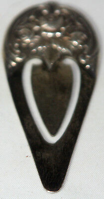 S. KIRK & SON,  BOOK MARK;  ANTIQUE Sterling Silver  c1900