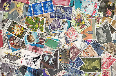 100 WORLD STAMPS!!!!Each Lot Different Includes a Good LOT of HIGHER VALUES