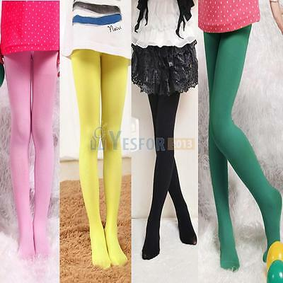 Girl Kid Stockings Tights Thin Pantyhose Velvet Ballet HOSIERY 4 Candy Colors
