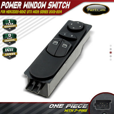 Master Power Window Switch for Mercedes Benz W639 Vito 2003-2014 A6395450913