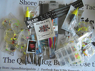 Sea fishing Rig Pack x 50 rigs and fishing pack - Sumer Pack - Limited stock