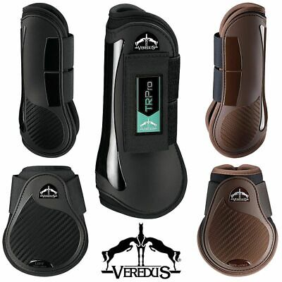 Veredus® TR PRO Training Jumping Boots Front Tendon Hind Fetlock or Set of Four