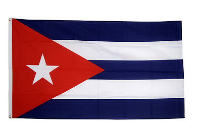 Cuba Giant Flag 8 x 5 FT -  Massive Huge Cuban National Country