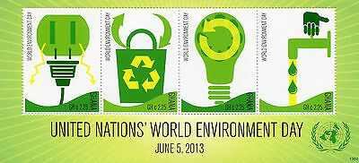 Ghana 2013 MNH United Nations World Environment Day 4v MS Green Energy Recycling